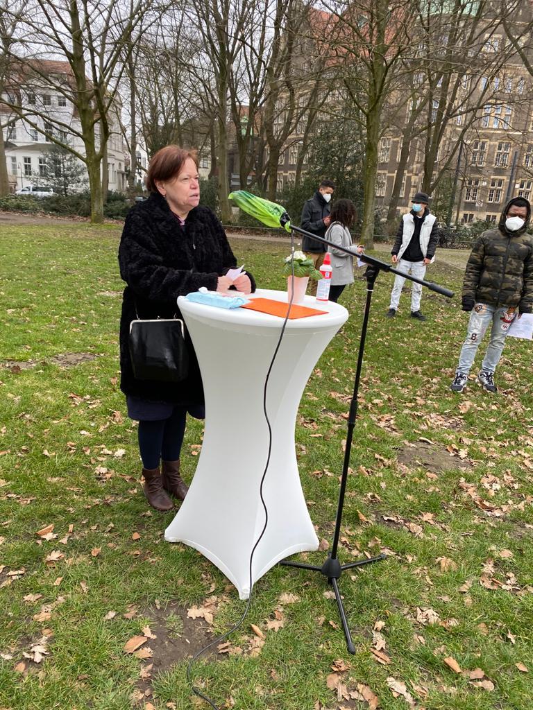 Gedenkaktion an die Opfer des Kolonialismus und an den Widerstand 5