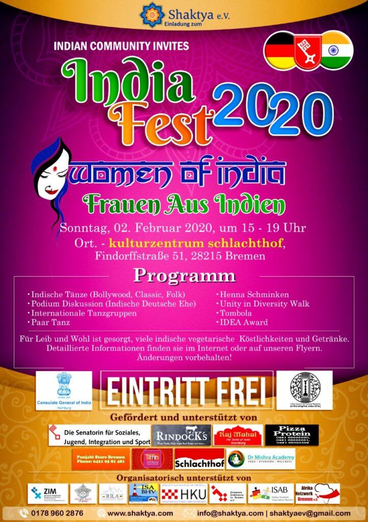 Einladung zum India Fest - 2020 1