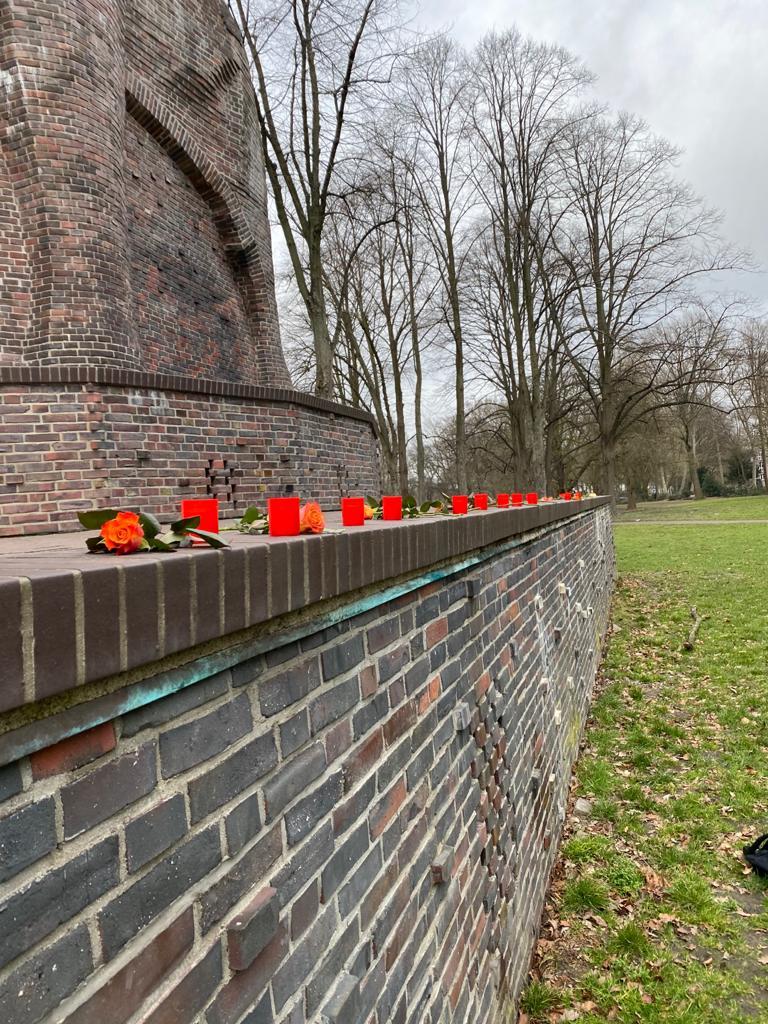 Gedenkaktion an die Opfer des Kolonialismus und an den Widerstand 3