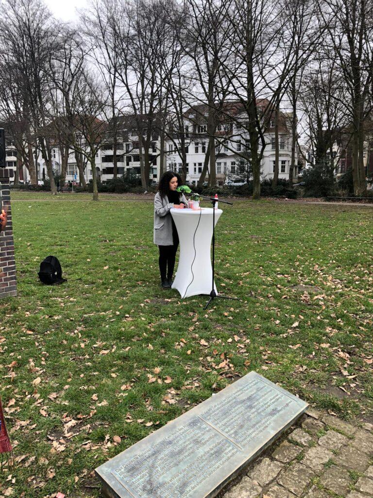 Gedenkaktion an die Opfer des Kolonialismus und an den Widerstand 2