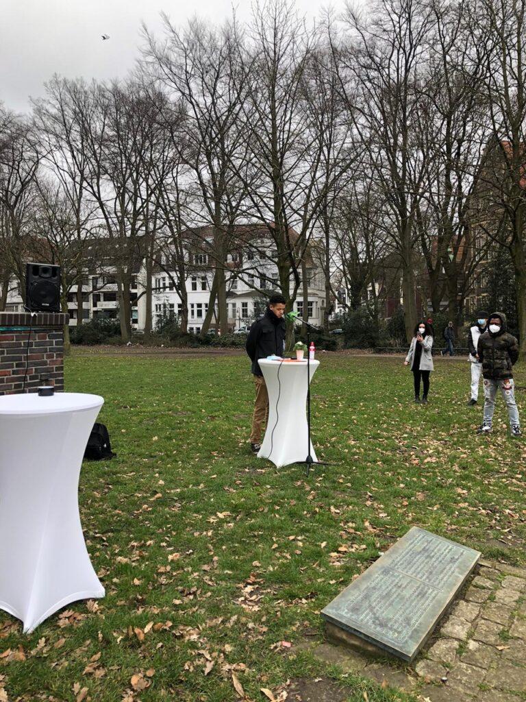 Gedenkaktion an die Opfer des Kolonialismus und an den Widerstand 4
