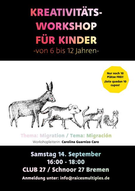 """Workshop """"Migration aus der Sicht von Kindern"""""""